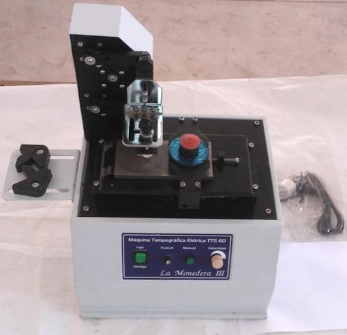 máquina tampográfica elétrica, pad printing