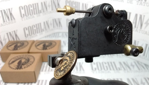 máquina tattoo micro mini rotativa estilo work horse pro