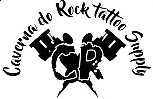 maquina tatuagem trestini taurus azul tattoo + cabo rca