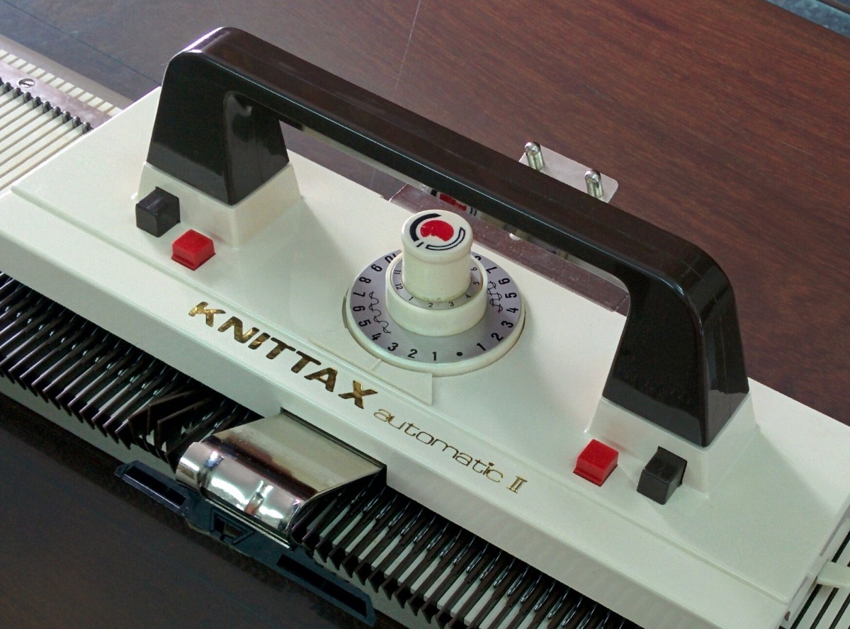 Máquina Tejer Knittax Automatic 2 + Suplem + Accs + Devanad ...
