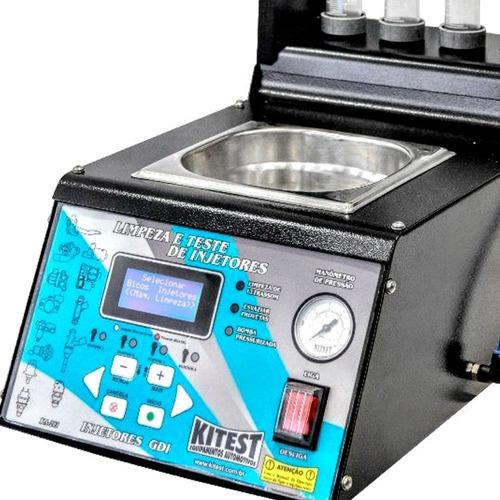 maquina teste e limpeza bicos injeção direta ka-201 kitest