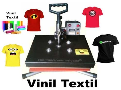 maquina textil de sublimacion 38x30