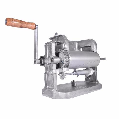 máquina tortilladora manual aluminio tm-g gonzalez de 4 pul