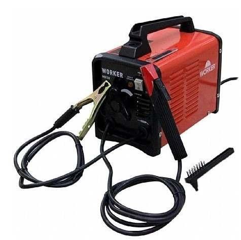 maquina transformador de solda 150a ms150 220v worker