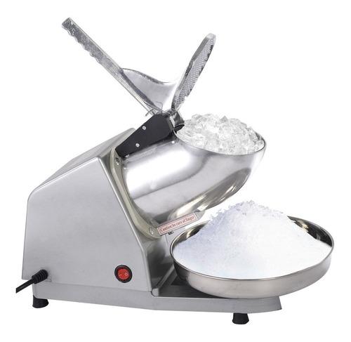 máquina trituradora hielo cholados raspados doble cuchilla