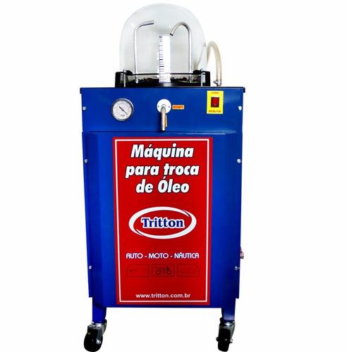maquina troca óleo a vácuo tritton 50 litros - 110v ou 220v