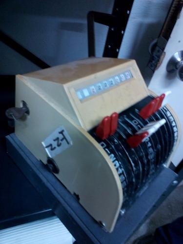 maquina troqueladora de cheques
