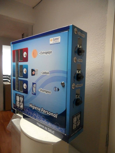 maquina vending de higiene personalizada 3 selecciones