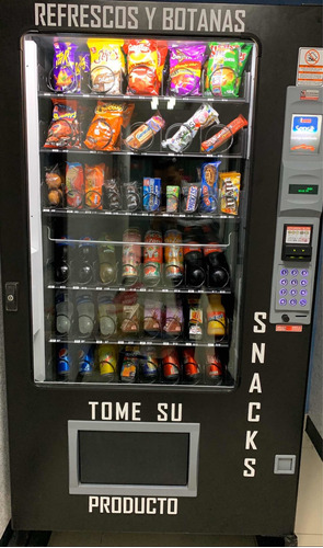 máquina vending en monterrey, con punto de venta incluido!!