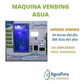 Máquina Vending Purificadora Agua Botellones Negocio Rentabl