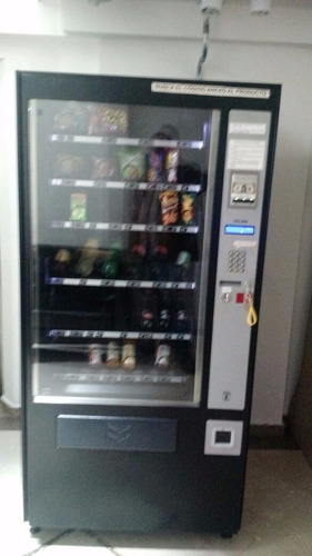 maquina vending snacks y bebidas