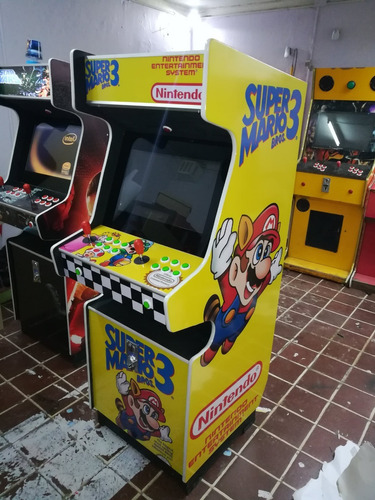 maquina video juego arcade multijuego modelo ochentero