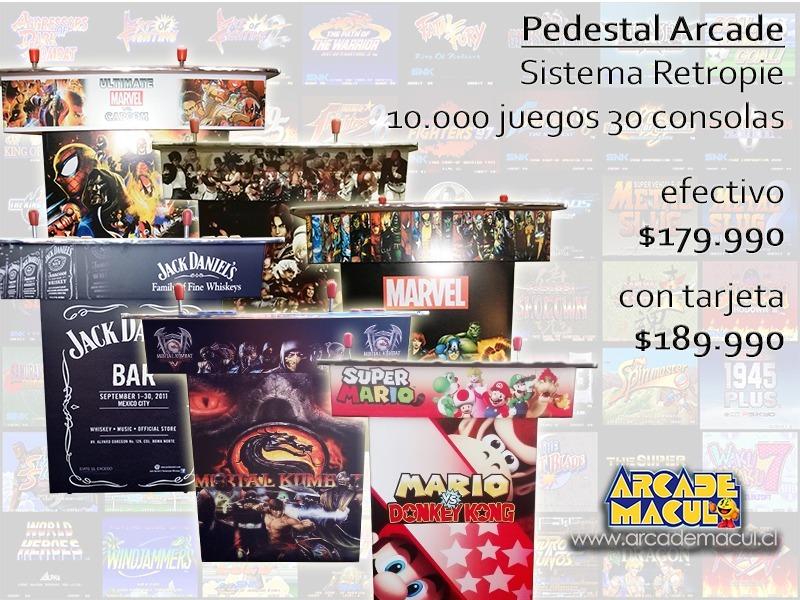Maquina Video Juegos Retro Arcade Mame Neogeo 199 900 En