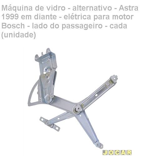 máquina vidro - astra 1999/ - elétrica p/motor bosch - dir