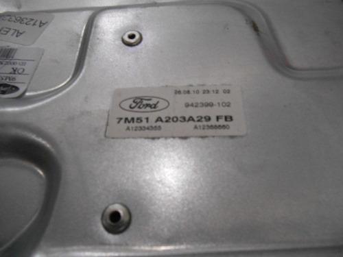 máquina vidro ford fusion esquerda motorista 7m51a203a29fb