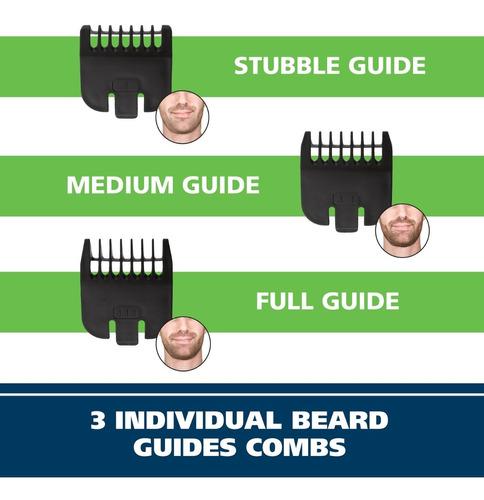 maquina wahl barbera con trimmer para orejas nariz 12 piezas