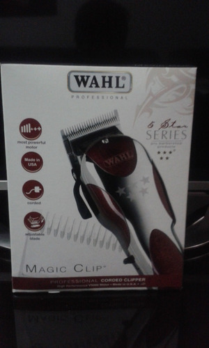 maquina wahl magic clip made in usa