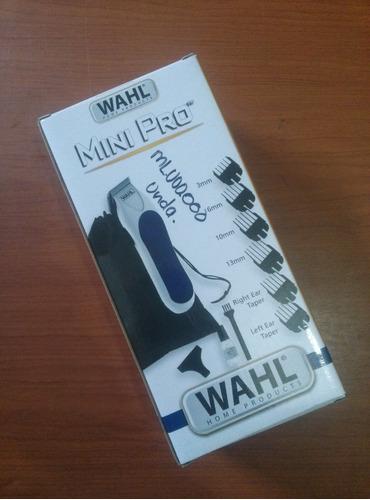 maquina wahl mini pro barba patilla cejas original 14 piezas
