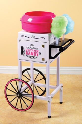 maquina y carrito para hacer algodones de azucar nostalgia