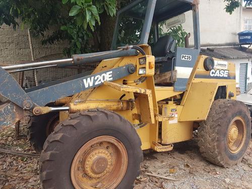 maquinaria agrícola tratores w20 e 1997/1997 amarelo
