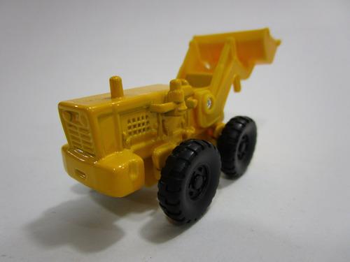 maquinaria amarilla coleccion escala miniatura 7cm h60