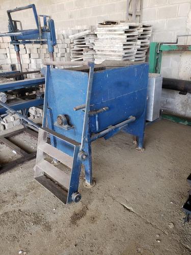 maquinaria completa para montar negocio: bloquera y tuberia
