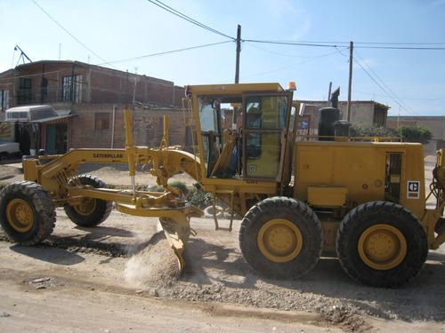maquinaria construcción motoconformadoras