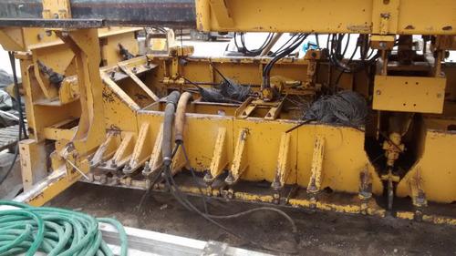 maquinaria construcción pavimentadoras