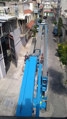 maquinaria construcción plataformas elevadoras