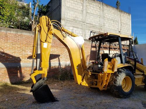 maquinaria construcción retroexcavadoras