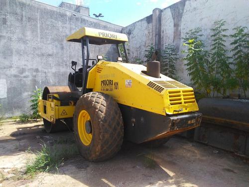 maquinaria construção compactadores