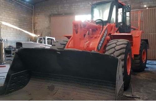 maquinaria construção pás carregadeiras