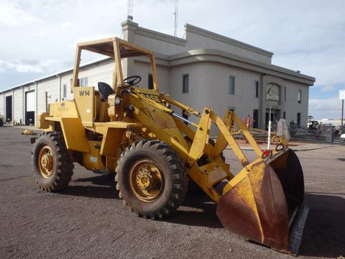 maquinaria de construcción cargador frontal case w14 payload