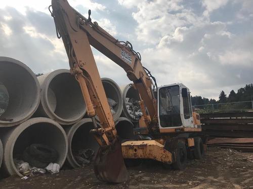 maquinaria de construcción excavadoras alemanas liebherr