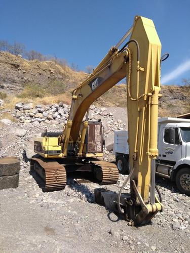 maquinaria de construcción excavadoras caterpillar cat