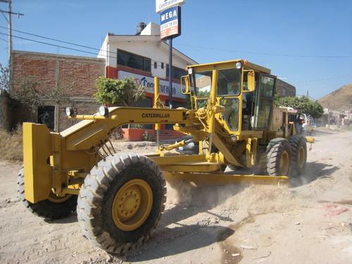 maquinaria de construcción motoconformadoras