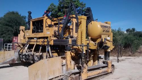 maquinaria de construcción pavimentadoras