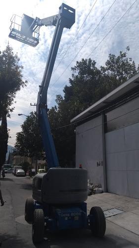 maquinaria de construcción plataformas elevadoras genie