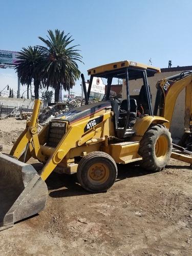 maquinaria de construcción retroexcavadoras