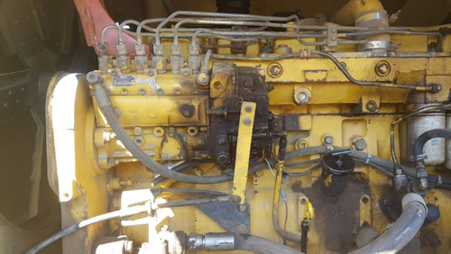 maquinaria industrial motoniveladora