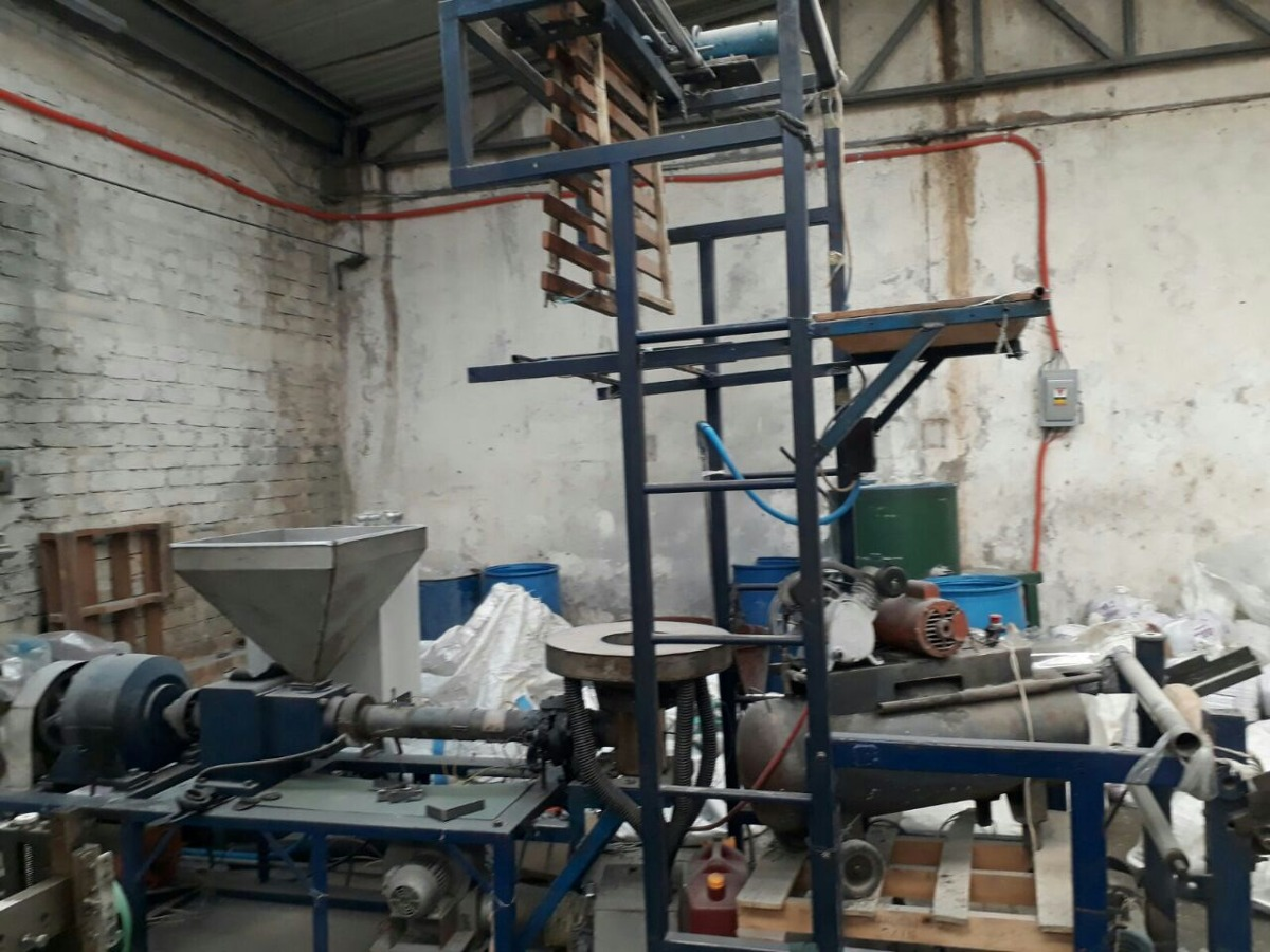 Maquinaria Para Fabricar Bolsa Negra Para Basura -   100.00 en ... c6f9a265118