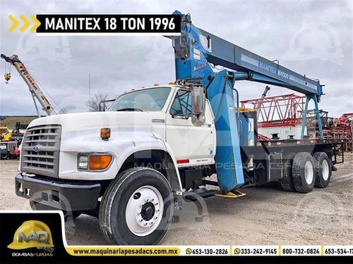 maquinaria pesada bomba de concreto grúa titán camión retro