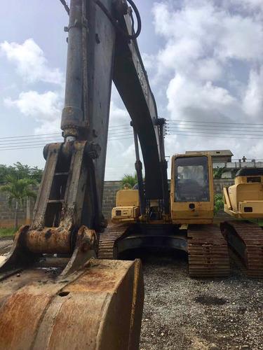 maquinaria pesada excavadoras jumbo john deere 200