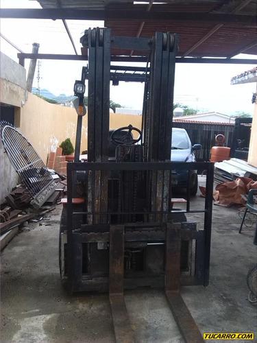 maquinaria pesada montacargas