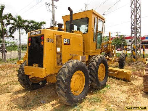maquinaria pesada motonivelador 120g
