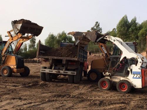 maquinaria vial, excavadoras, combinadas, bobcat, martillos