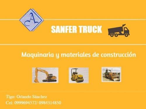 maquinaria y materiales de construcción