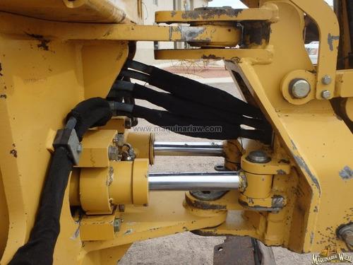 maquinaria zanjadora vermer rt700 con retroexcavadora y pala