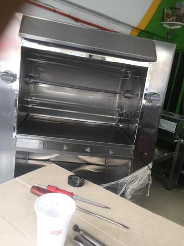 maquinarias para pollos a la leña y gas nuevos