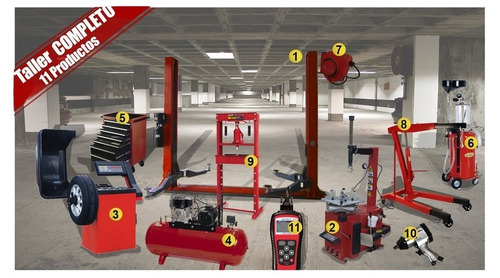 maquinarias para talleres